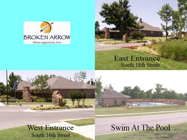 West, East Entrances And Pool